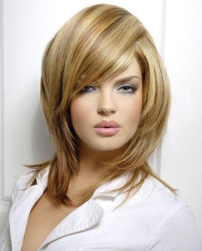 mechas de cabelos em 3D