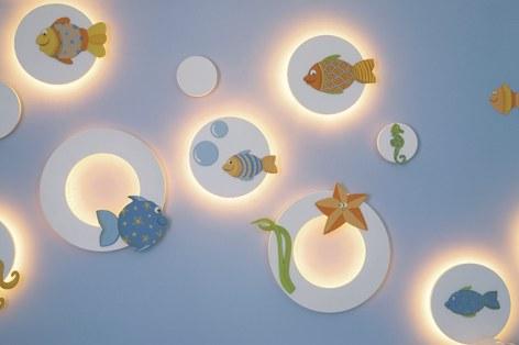 iluminacção de quarto bebê - Foto 1